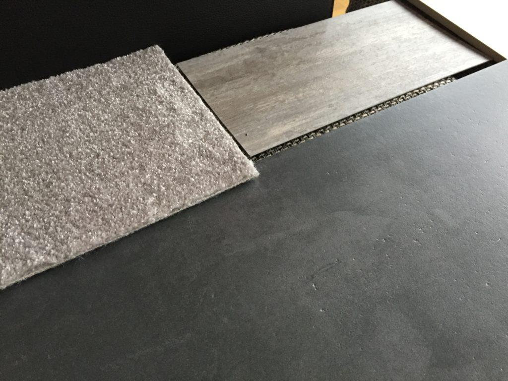 Fliesen / Designboden / Teppich Auswahl