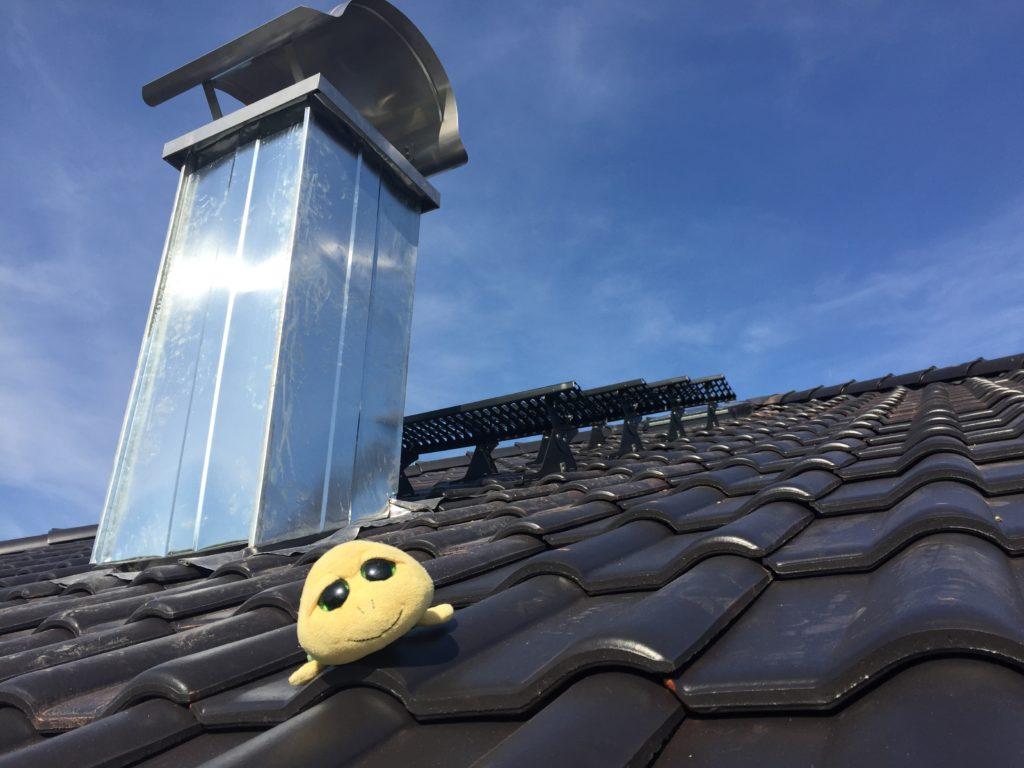 Dach mit Simon