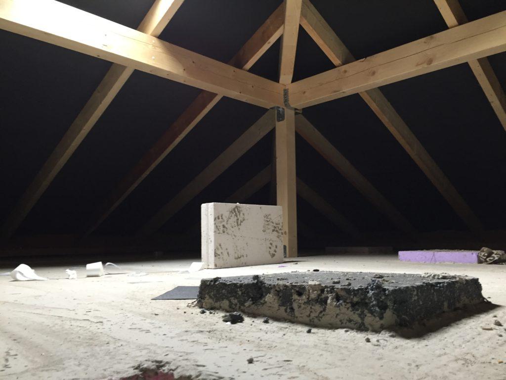 Stauraum unterm Dach