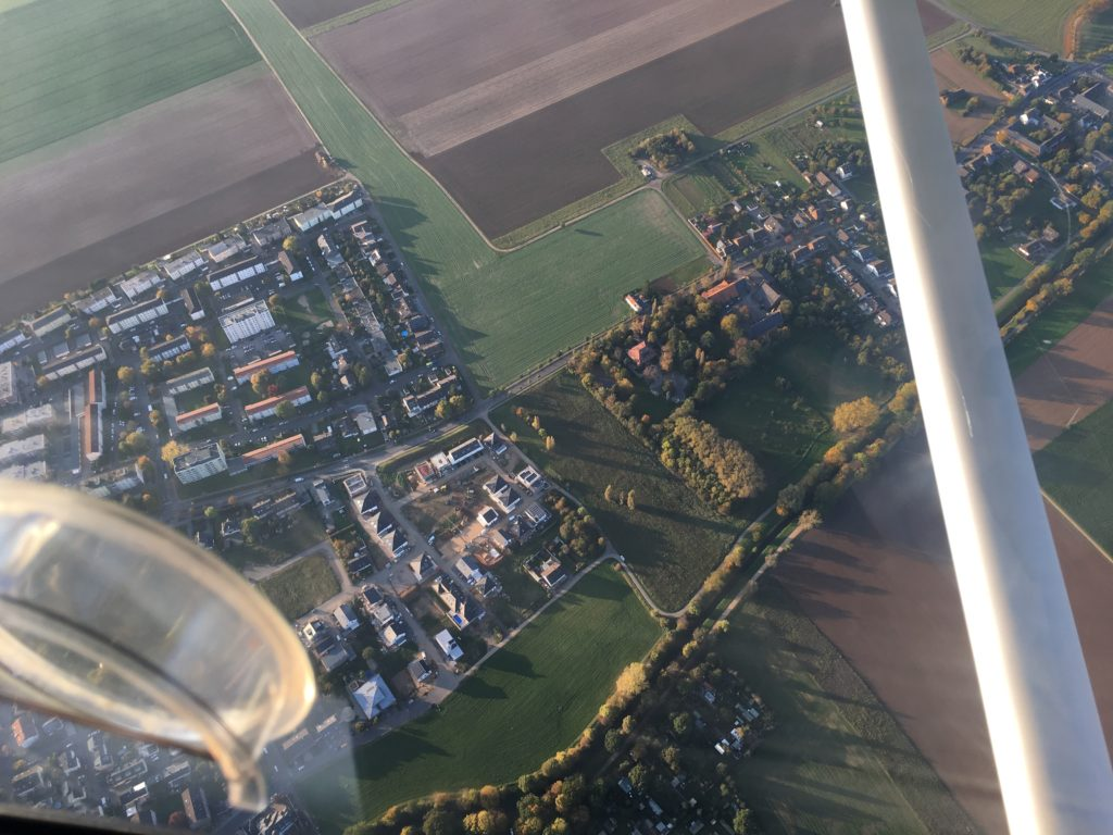 Blick auf das Neubaugebiet Gertrudisgärten in Euskirchen